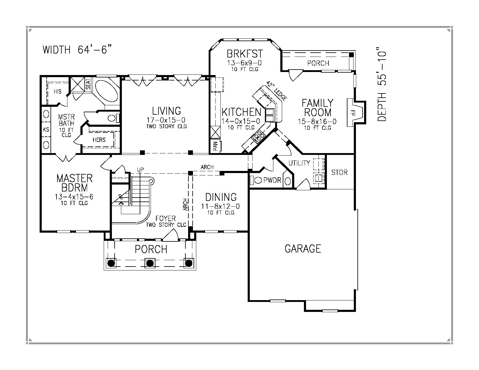 Weasley house floor plan Home design and style – The Waltons House Floor Plan